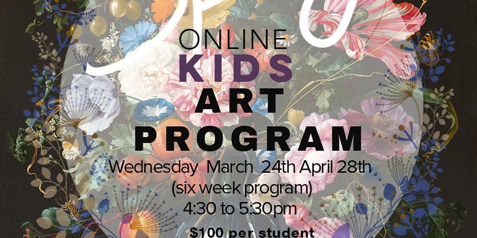 Spring Art Program - Wednesday (ONLINE)