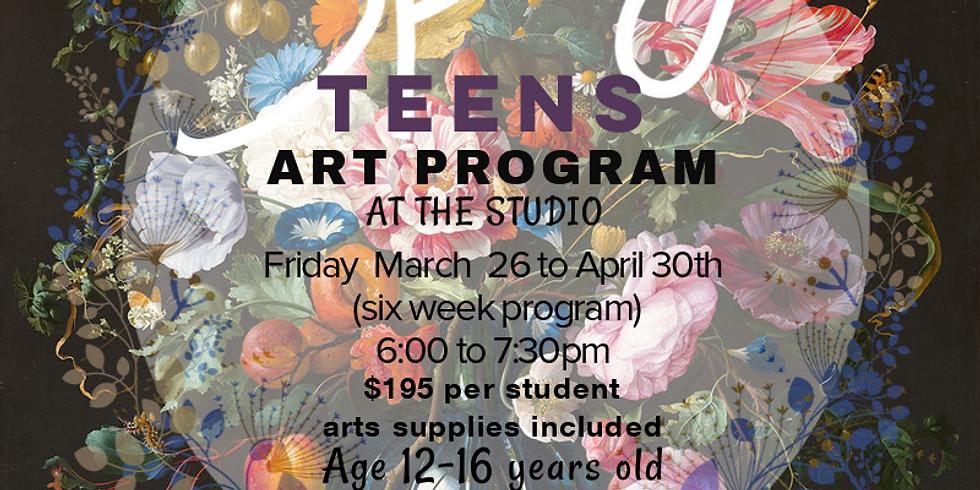 Spring Art Program -Teens Friday (STUDIO)