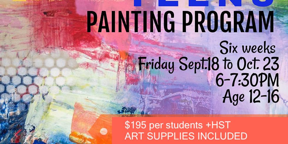 Teens Painting Program