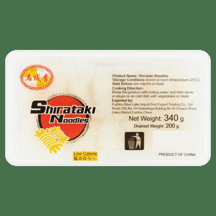 Širataki nūdeles (Shirataki noodles) 340g
