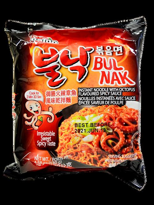 Nūdeļu zupa ar astoņkāju garšu