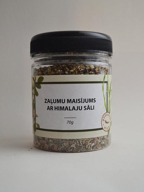 """Garšvielu maisījums """"Zaļumi ar himalaju sāli"""""""