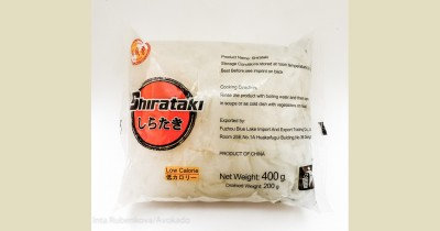 Širataki nūdeles plakanās (Shirataki noodles) 400g