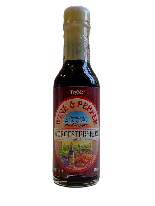 Worcestershire mērce (wine and pepper)