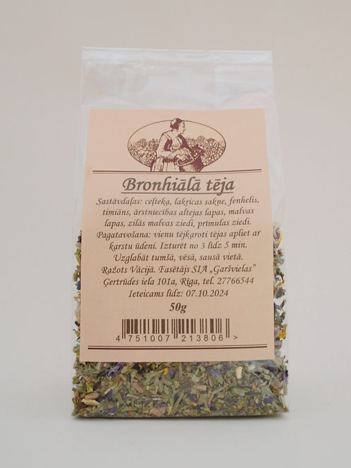 Bronhiālā tēja 50g (bronchial tea)