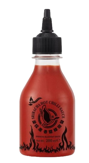 Sriracha BLACKOUT mērce