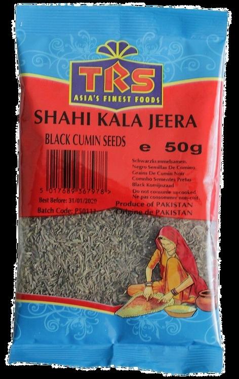 Kumins melnais (jera, romas ķimenes, black cumin) 50g TRS