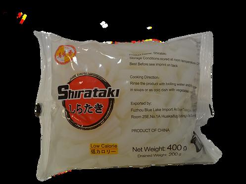Širataki Udon nūdeles (Shirataki udon noodles) 400g