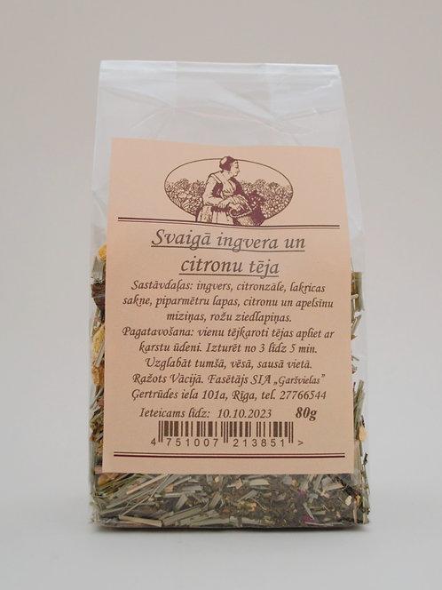Svaigā ingvera un citrona tēja 80 g