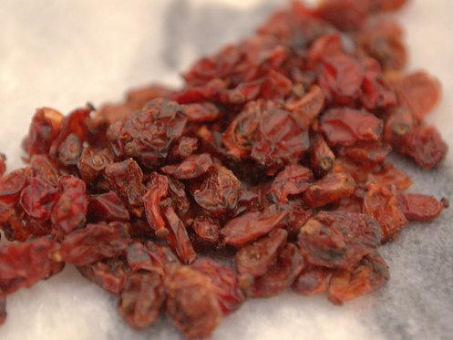 Bārbeļu ogas, barberry