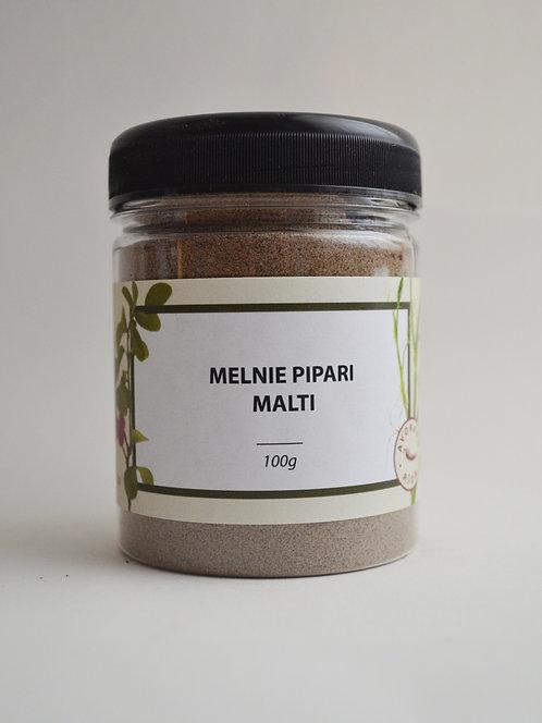 Melnais pipars (malts)