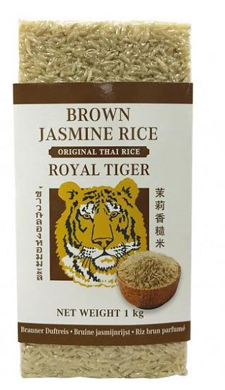Brūnie jasmīna rīsi