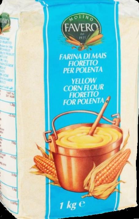 Dzeltenie kukurūzas milti 1kg