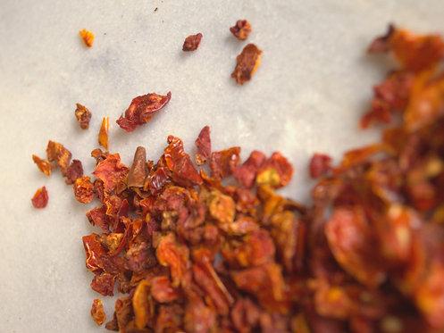 Kaltētas tomātu pārslas
