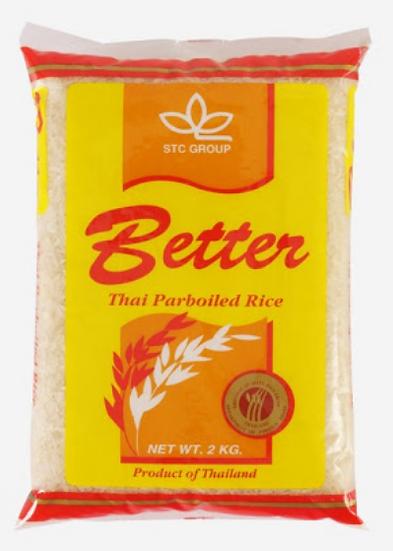 Tvaicētie rīsi