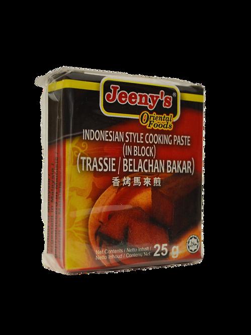 Indonēzijas pasta 25g (indonesian paste, shrimp paste)