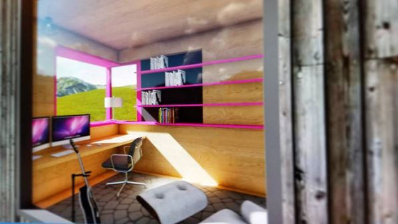Backyard Office Module, Billings MT