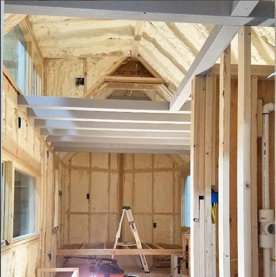 Tiny House Interior Progress