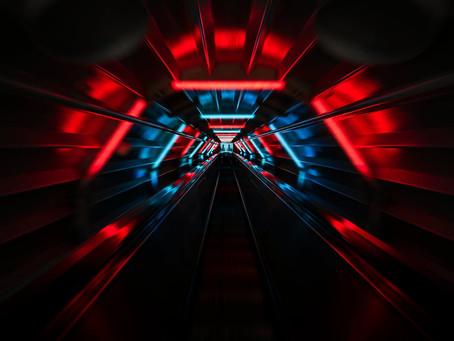 Światło w tunelach