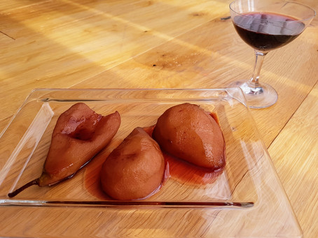 """Ricetta-Un dessert autunnale """"Pere Cotte"""""""