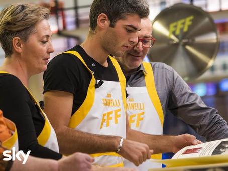 Family Food Fight -Come è andata la seconda puntata trasmessa da TV8 con Cannavacciuolo e Bastianich