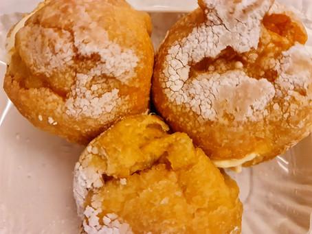 Le frittelle leggerissime dell'antica pasticceria Lanfranchi a Cremona