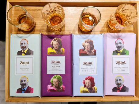 Prova d'assaggio Il cioccolato di Zàini che si presenta bene