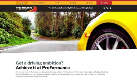 ProFormance Racing School Website