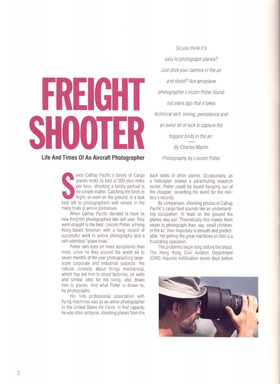 Article for Cathay Pacific Cargo