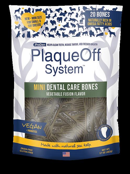 PlaqueOff System™ Mini Dental Care Bones