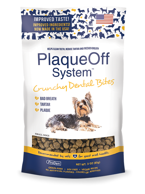 PlaqueOff System™ Crunchy Dental Bites