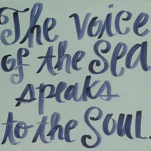 """""""The Voice of the Sea..."""" print or notecard"""