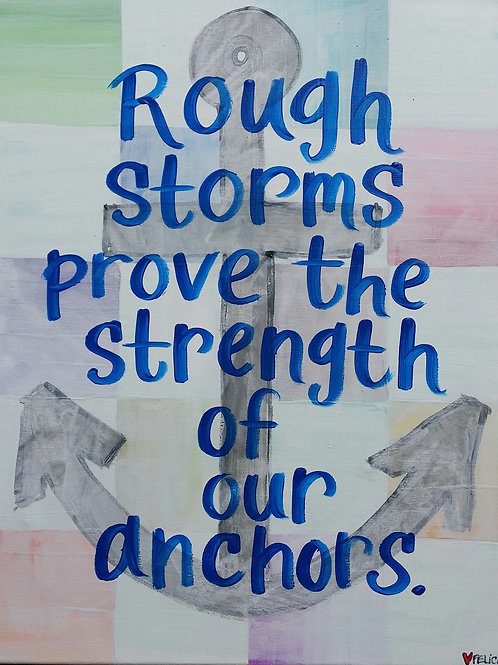 """Rough storms..."" print or notecard"
