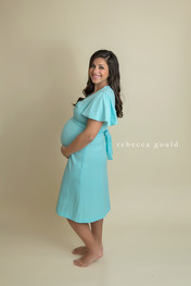 blue vintage sundress