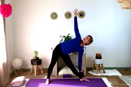 Cours de Yoga N°7 - Préparation à la salutation à la Lune
