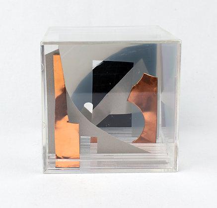 Paper Cube - Cityscape - Denver Art Museum