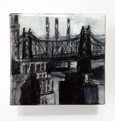"Queensboro Bridge - 5x5"" study"