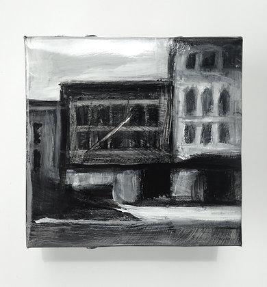 """14th Street - 5x5"""" study"""