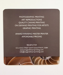 Imagine Fine Art Printing Rack Card