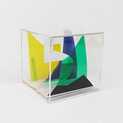 Paper Cube - Cityscape - California