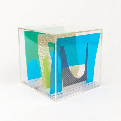 Paper Cube - Cityscape - Miami