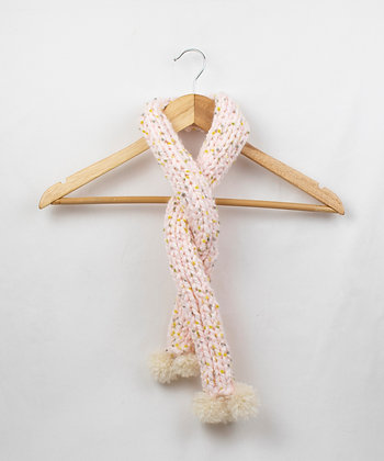 Pink Peppermint Ice Cream Scarf