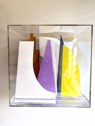Paper Cube - Lavender & Citrus