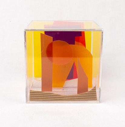 Paper Cube - Cityscape - Arizona