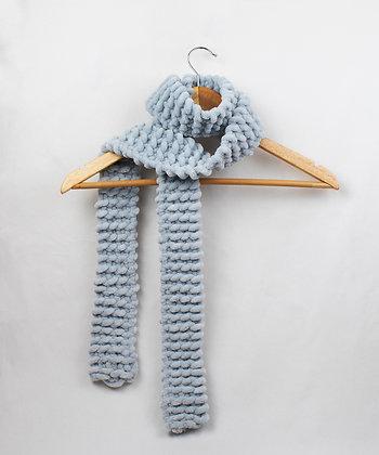 Soft Woven Scarf - Ocean Blue - Regular/Long