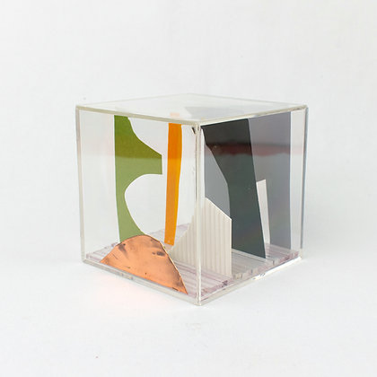 Paper Cube - Cityscape - Chicago