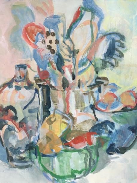 Kitchen Still Life Bouquet