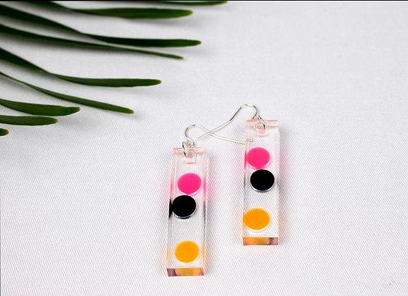 Confetti Resin Earrings