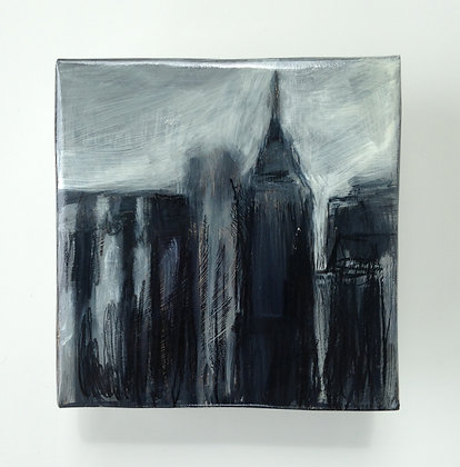 """5th Ave. - 5x5"""" study"""