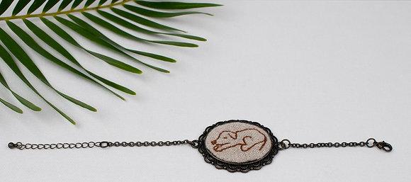 Brown Puppy Bracelet
